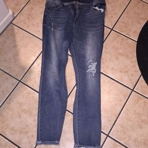 STS blue jeans Ellie high rise ankle sz 32